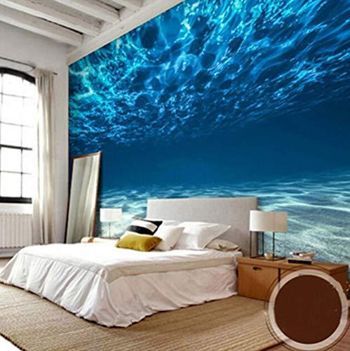 Papel Mural Fotográfico 3D Paisaje De Mar Profundo Mural Grande Decoraciones De Pared Sala De Estar Dormitorio Papel Tapiz De Pared 3 D