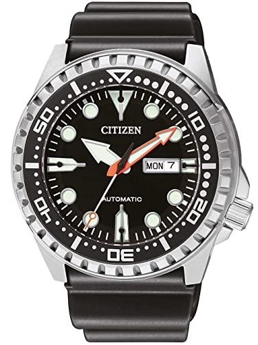 Citizen Reloj Analógico para Hombre de Automático con Correa en Sintetico NH8380-15E
