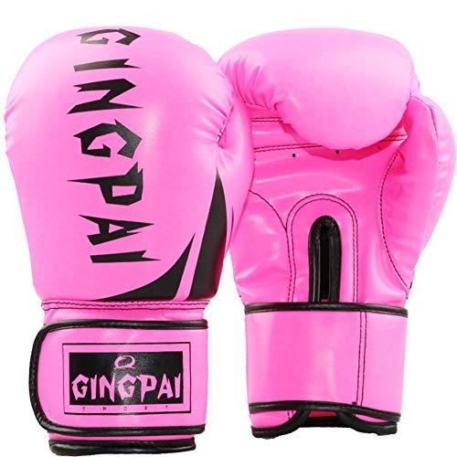 DC CLOUD Box Handschuh Boxhandschuhe Kinder Boxsackhandschuhe Junior Boxhandschuhe Boxsackhandschuhe Boxhandschuhe für Kickboxen Schlaghandschuhe pink,8oz