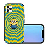 Minion_s iPhone 11 pro max Case with 4 Corners Shockproof Protection,Cute Cartoon Design Soft TPU Bumper and Hard PC Back Cover Cases for Kids Boys Men Women
