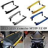MT09 FZ09 kit di corrimano per manubrio del sedile del passeggero posteriore del motociclo della motocicletta per Yamaha MT FZ 09 MT-09 FZ-09 2014-2019 2014-2019 (Blu)