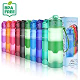 WINPOST Sport Trinkflasche-Tritan Wasserflasche-500ml&700ml&1000ml-BPA-Frei-Ideale Sportflasche-Schnelle Wasserdurchfluss,Flip Top,öffnet Sich mit 1-Click