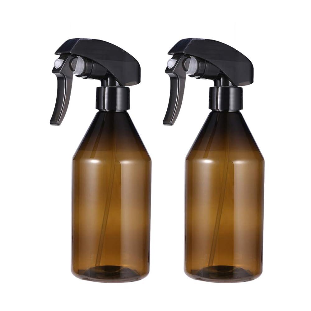 先行する泥中級Beaupretty プラスチック製の空のスプレーボトル300ミリリットル詰め替え式スプレー容器用メイクアップクリーニングソリューション2ピース