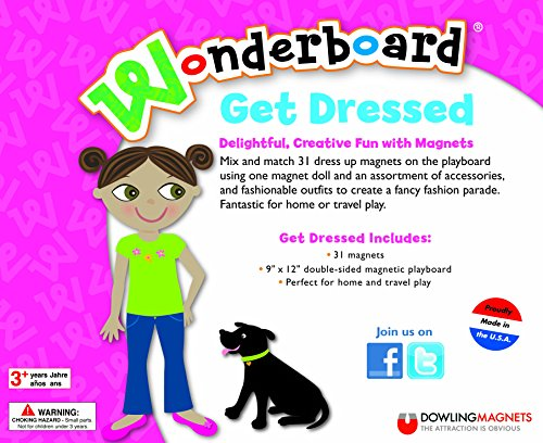 Dowling Magnets Wonderboard Get Dressed