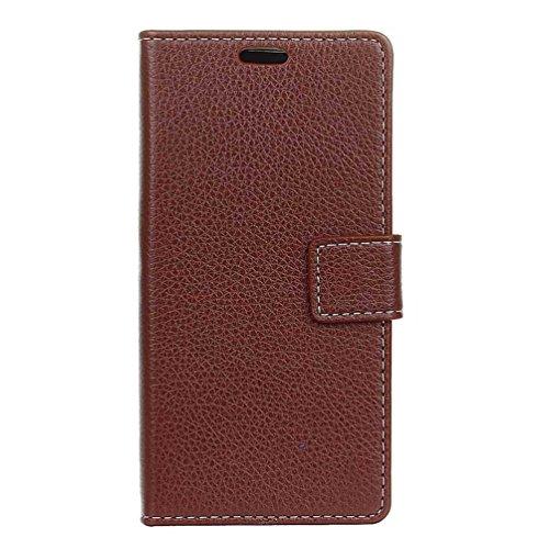 PU Leder Etui Hülle im Bookstyle Handy Tasche für Doogee X20 / X20L Schutzhülle Schale Flip Cover Wallet Hülle (KZN-18#)