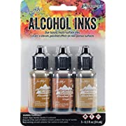 Ranger Adirondack Alcohol Ink 3 Pack (.5 Ounces Each) - in your choice of color