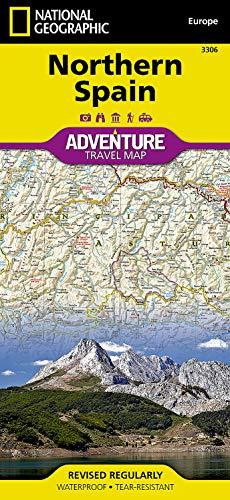 Spanien, Norden: NATIONAL GEOGRAPHIC Adventure Maps: Travel Maps International Adventure Map: 3306