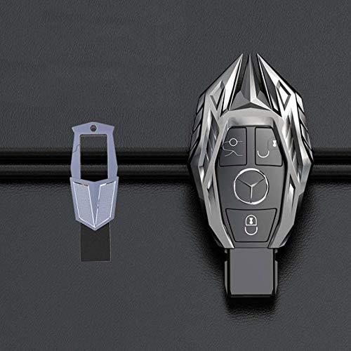 KPLDEKLC Carcasa de la Llave del Coche Carcasa de la Llave del Control Remoto del Coche Carcasa de la Llave, para Mercedes Benz W124 W176 W202 W203 W204 W205 W210 W212 W221 W222 W251