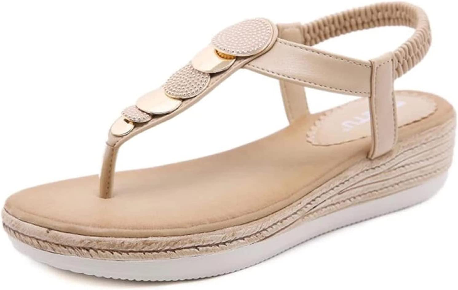 LyHomeAn Max 88% OFF Fashion Ladies Sandals He Slope low-pricing Women's Summer