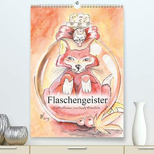 Flaschengeister (Premium, hochwertiger DIN A2 Wandkalender 2021, Kunstdruck in Hochglanz)