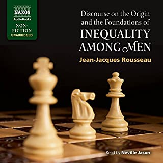 Discourse on the Origin and the Foundations of Inequality Among Men cover art