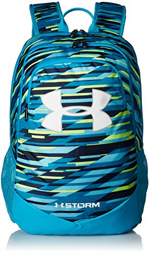 Under Armour Boy's Storm Scrimmage Backpack, Venetian Blue (448)/White, One Size Fits All