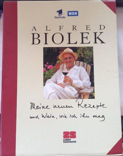 2 Bücher. Alfred Biolek: Meine Rezepte ; Meine neuen Rezepte : [Alfredissimo! - Kochen mit Bio]
