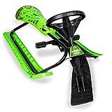 Boyz Toys Dragon Glide Snow Sledge Racer Divertimento Invernale Sport Slitta Da Neve In Acciaio - Volante - Freni
