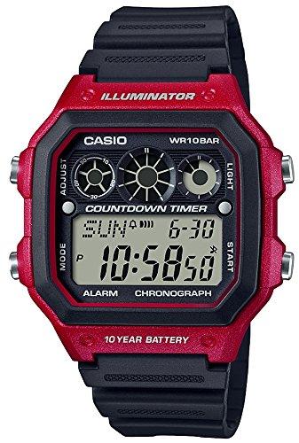 [カシオ] 腕時計 スタンダード AE-1300WH-4AJF メンズ ブラック
