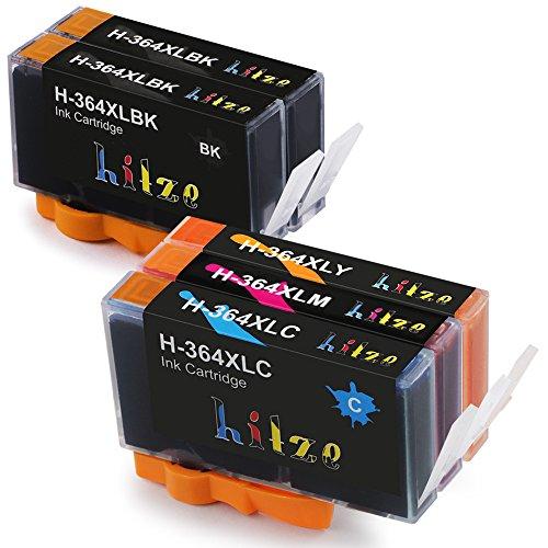 Alta Capacidad Hitze 364 XL Cartucho de Tinta Reemplazo Compatible para con HP Deskjet 3070A OfficeJet 4620 Photosmart 5510 B110A B8550 C5324 C5370 C5373 C5383 C5388 C5390 C5393 C310A C310C Impresora
