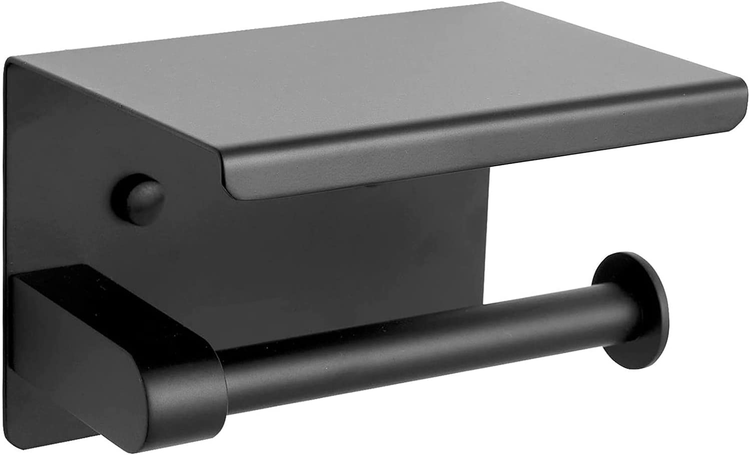 National products Matte Black Free Shipping New Tissue Roll Dispenser Steel Storage Stainless Paper