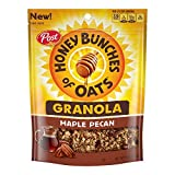 Honey Bunches of Oats Maple Pecan Granola Cereal and Snack, Good Source of Fiber, made with Whole Grain Breakfast Cereal, 11 Ounce (Pack of 6)