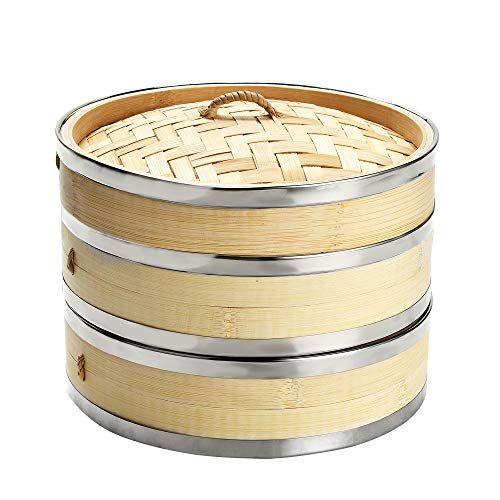 Harcas Deluxe Vaporera de bambú