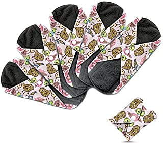 Dutchess Cloth Menstrual Pads - Bamboo Reusable Sanitary Napkins - Perfect for Heavy Flow or Overnight