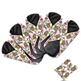 Product Image of the Dutchess Cloth Menstrual Pads - Bamboo Reusable Sanitary Napkins - Perfect for...