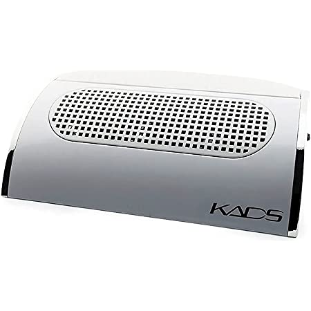 KADS Nail Art Dust Suction Collector 3 Fans Powerful Strong Power Nail Dryer Tool with 2 Dust Collecting Bags (110V US Plug)