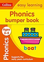 Collins Easy Learning Preschool - Phonics Bumper Book Ages 3-5