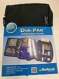 Medicool DIA-PAK Deluxe Diabetic Supply Organizer - Black