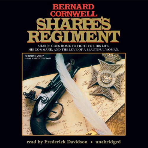 Sharpe's Regiment audiobook cover art