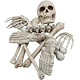 Modelo de Estudio Set de cráneo Decorativo de Halloween Modelo Realista Corpse PROPSACIONES ADICIONALES DE LA CASA DE LA CASA DE Halloween Horror Tema Tema Bar BARRERO, 9pcsset (Color : 12pcsset)