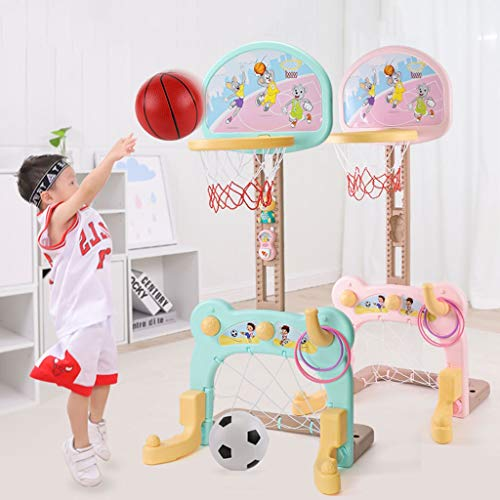 Buy RXY-CHILD Children Can Raise and Lower Basketball Football Goal Shooting Box Hobby Training 2-9 ...