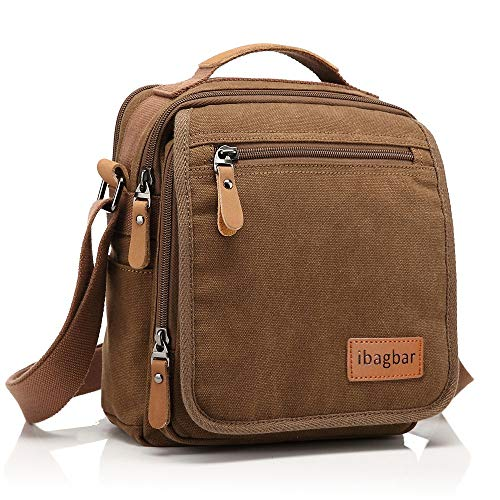 Small Canvas Shoulder Bag Messenger Bag Work Bag