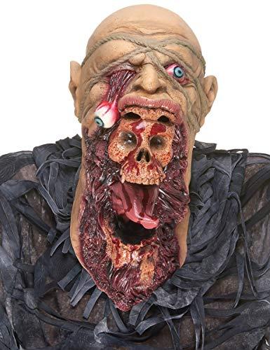 DEGUISE TOI - Masque Latex Zombie dévoreur Adulte - Taille Unique