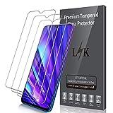 LK Compatible con Realme 5 Pro Protector de Pantalla,3 Pack,9H Dureza Cristal Templado,Vidrio Templado Screen Protector