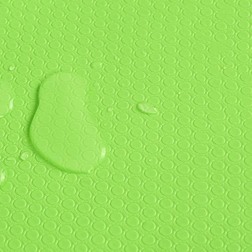 Aiyow Koelkastpads Multifunctionele koelkast Antislip antifouling Schimmel Vochtabsorberende pad Koelkastmatten.Groen zonder lijm