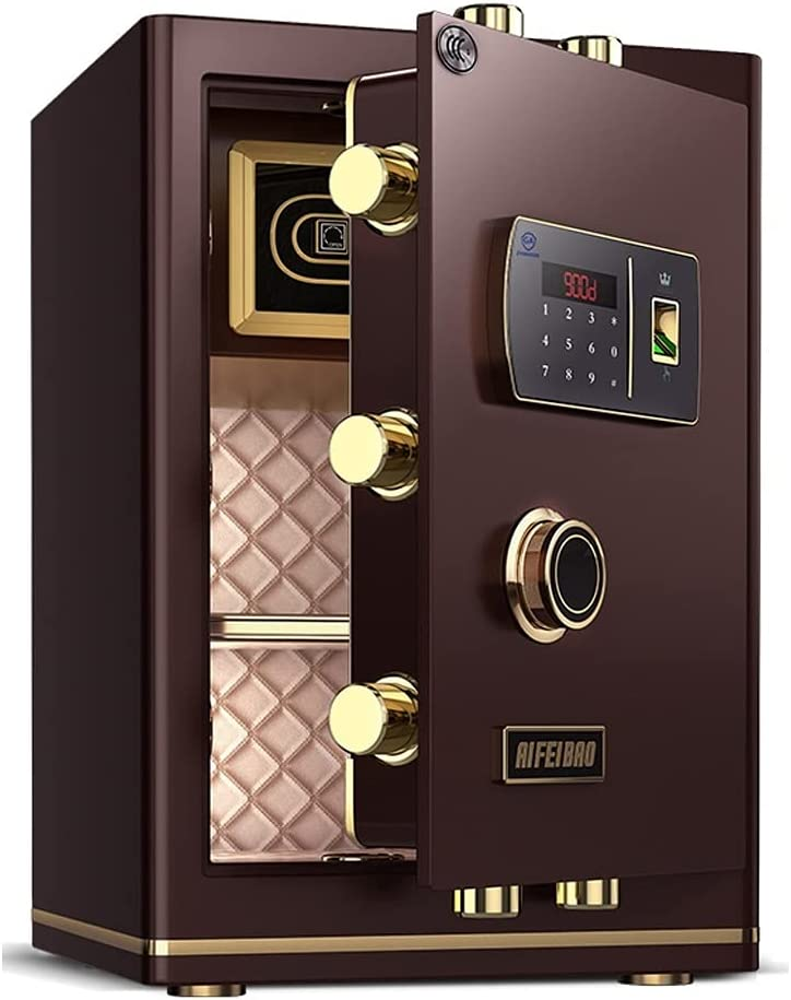 Wall Safes Safe discount Home Fingerprint Anti-Theft Passw All-Steel Bargain