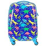 BONTOUR Maleta infantil con motivo de dibujos animados, equipaje de mano...