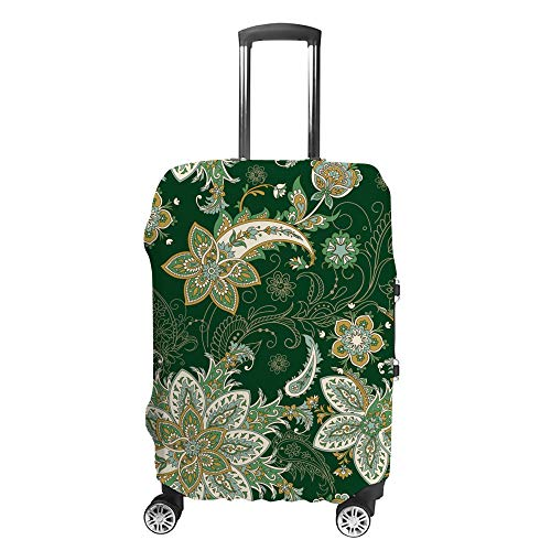 HAOXIANG Travel Luggage Covers Flower Elf Suitcase Covers Protector Bag Washable
