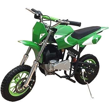 40cc Kids Dirt Bike Mini Pit Bike Dirt Bikes Motorcycle Gas Power Bike Off Road,Green