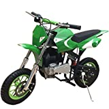 X-PRO 40cc Kids Dirt Bike Mini Pit Bike Dirt Bikes Motorcycle Gas Power Bike Off Road,Green