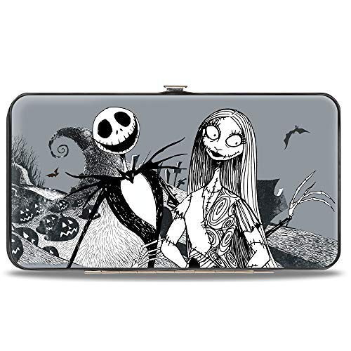 Buckle-Down Women's Standard Hinge Wallet-Nightmare Before Christmas, 7' x 4'