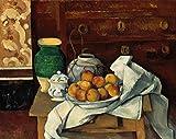 Kunstdruck/Poster: Paul Cézanne Stilleben - hochwertiger