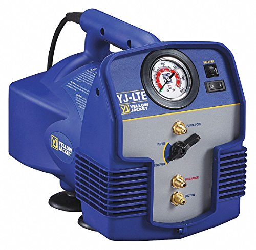 Refrigerant Recovery Machine, 1/2 HP, 115V