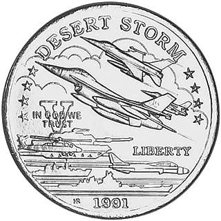 desert storm five dollar silver coin