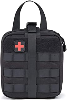 LucaSng Tactical Medical Storage Bag Car Storage Bag Outdoor Sports Field First Aid Kit Camping Medical First Aid Kit Util...