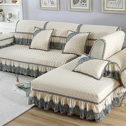QQDL Sofabezug Sofaüberwürfe für Couch Stretch Sofahusse Sofa Elastisch Sofa Überwürfe Sofabezug Stretch Sofahusse Couchbezug 1/2/3/4 Sitzer Sofabezug Sofaüberwurf Elastisch Hautfreundlich