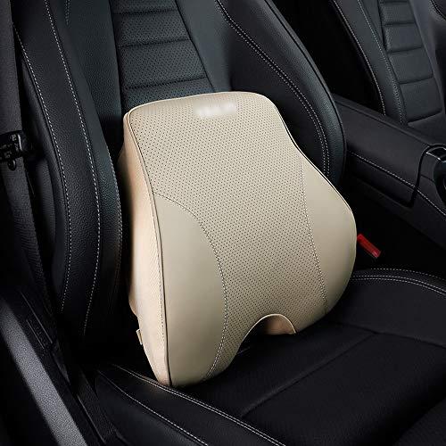 KTYX Almohada Lumbar for una Almohada ergonómica de Respaldo for el Viaje en automóvil Desde la Oficina en casa for aliviar y prevenir el Dolor de Espalda Superior e Inferior