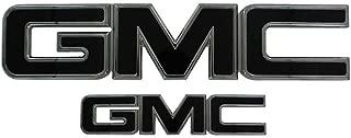 AMI 96501KC GMC Grille Emblem Chrome//Black Powder coat 1 Pack