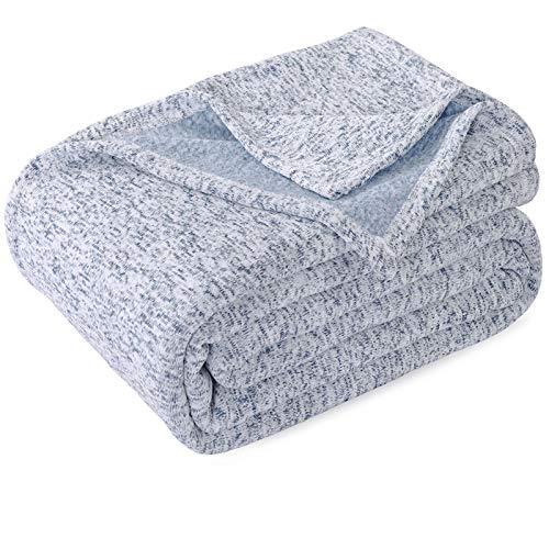 KAWAHOME Summer Knit Blanket Lightweight...