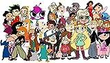 Rompecabezas de 1000 piezas, para adultos, para aliviar el estrés, para niños, juegos intelectuales, póster de la serie Phineas y Ferb, papel, multicolor, personalización, personalización, creatividad